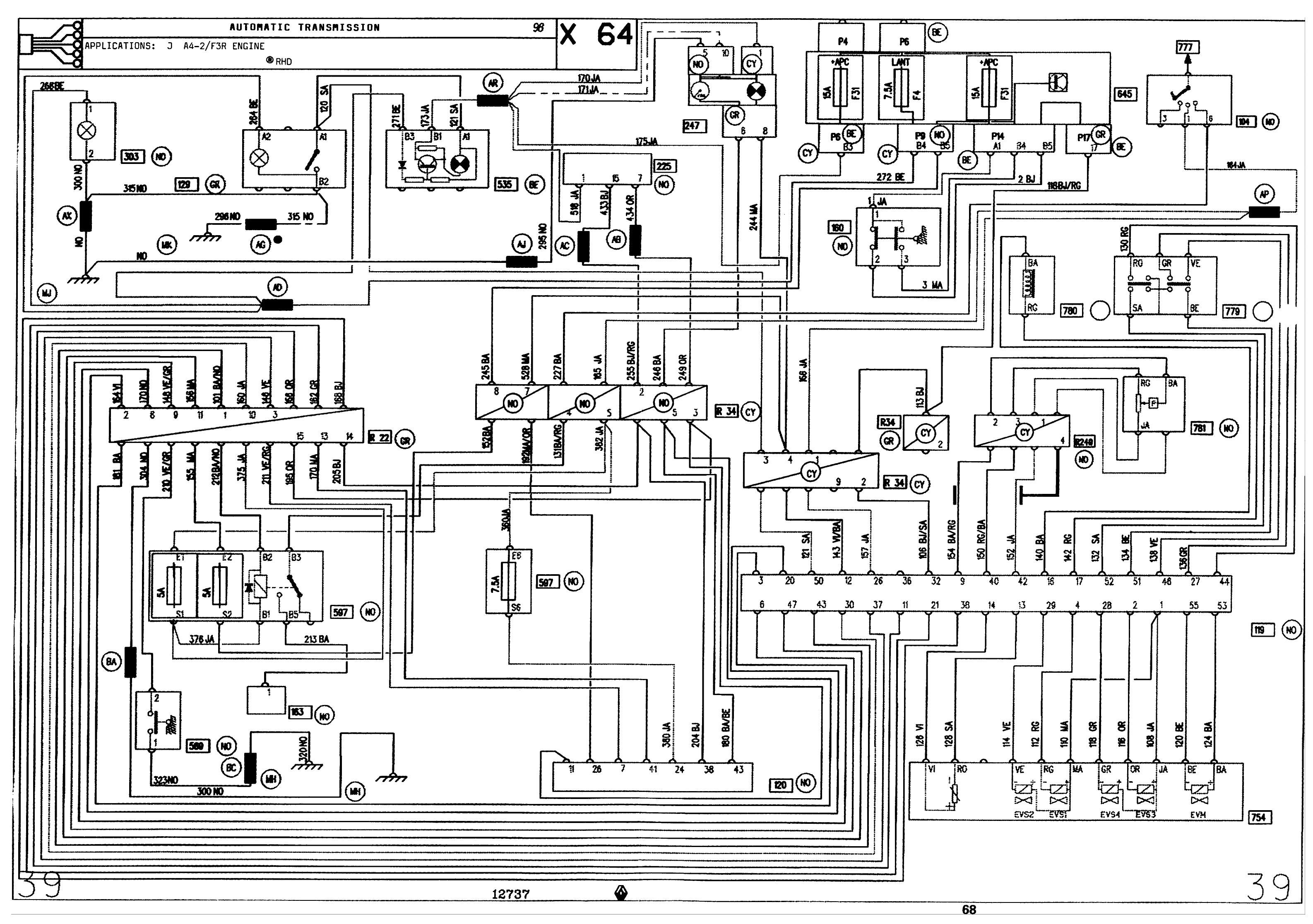 Электросхема рено лагуна 1 фото 298