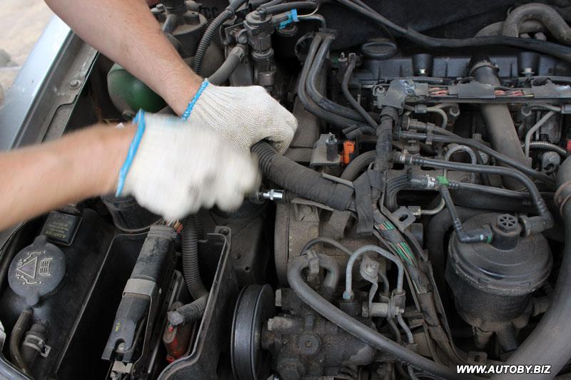 замена грм ситроен ксантия 2 бензин