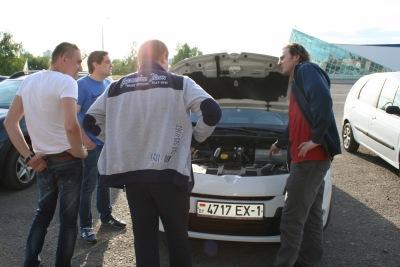 Встреча владельцев Renault (25.05.2017, Минск)
