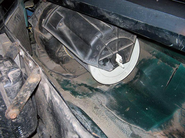вентилятор печки renault 19