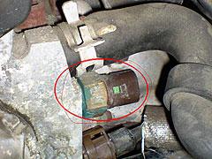 датчик радиатора renault symbol