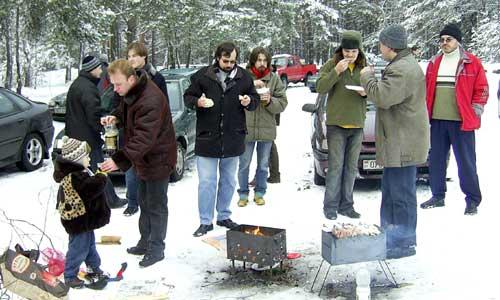 Встреча владельцев Renault | Минск, 26.11.2005, Renault-клуб