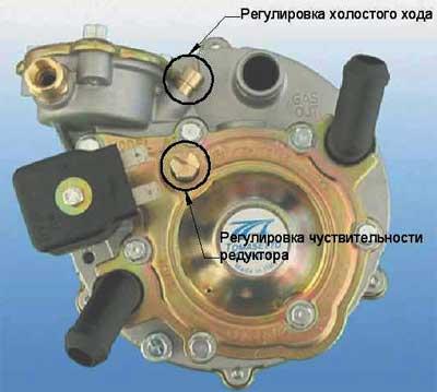 схема газового редуктора tomasetto.