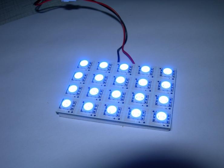 Как сделать светодиодная плата