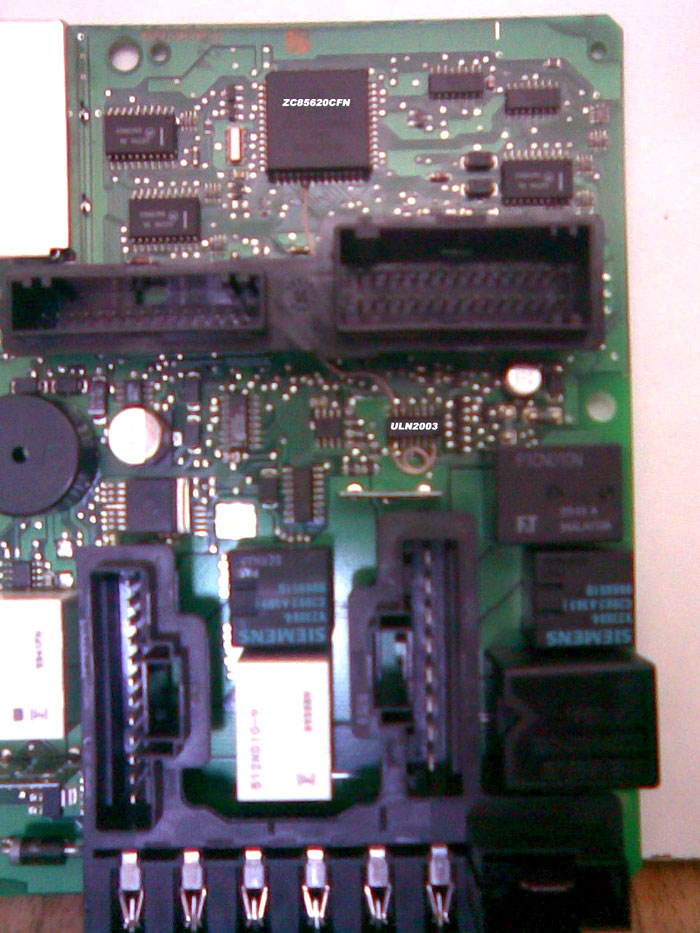 Для этого использовал незадействованный канал микросхемы ULN2003 , отпаял её и разорвал соединение её 7 вывода с...